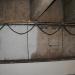 Wandfläche verschimmelt, teilgereinigt