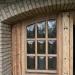 Fensterbereich nach Reinigung mit Trockeneis