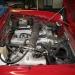 Alfa Spider 2.0 Bj. 1991-Motorraum-vorher