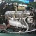 MB W111 280 SE Cabrio Bj. 1970-Motorraum-nachher